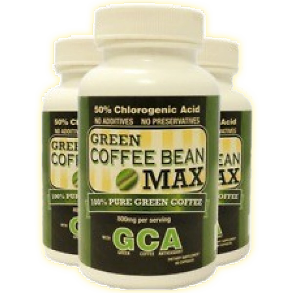 Green Coffee Bean Max, 50% acid clorogenic, Produs pe baza de extract de cafea